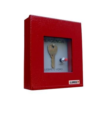 Acionadores manuais Caixa Porta chave   Tipo Cogumelo d952a22868