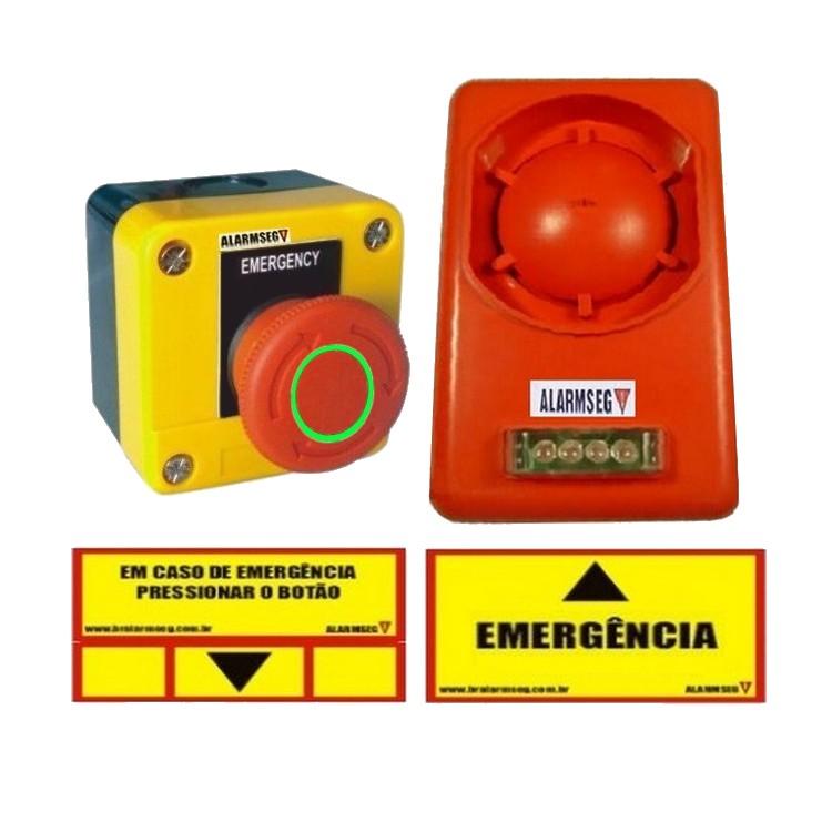 Alarme de emergência sem fio