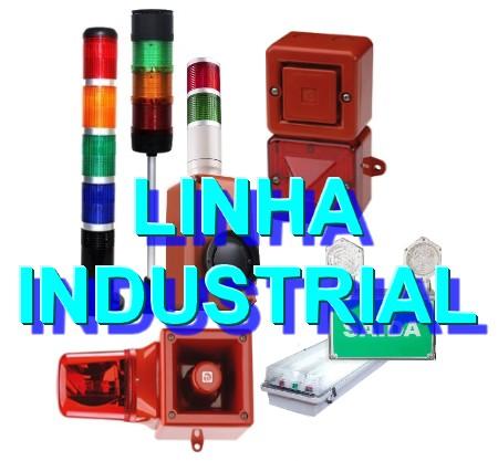 linha industrial